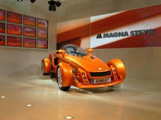 обои 2005 Magna Steyr Mila боком фото