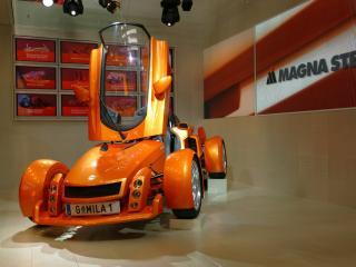 обои 2005 Magna Steyr Mila спереди фото