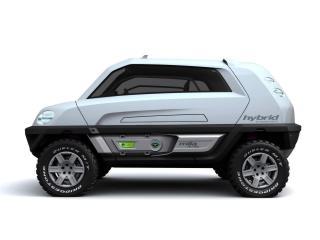 обои 2008 Magna Steyr Alpin Concept бок фото