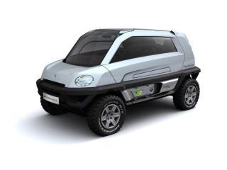 обои 2008 Magna Steyr Alpin Concept бочек фото