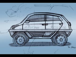 обои 2008 Magna Steyr Alpin Concept эскиз фото