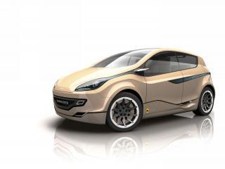 обои 2009 Magna Steyr mila ev Concept боком фото