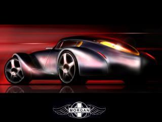 обои 2006 Morgan Aeromax эскиз фото