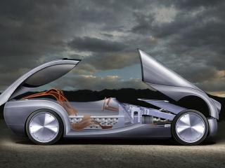 обои 2008 Morgan LifeCar Concept разобран фото