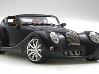 обои 2010 Morgan Aero SuperSports High Resolution white of studio фото