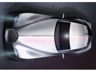 обои 2010 Morgan EvaGT Concept silver фото