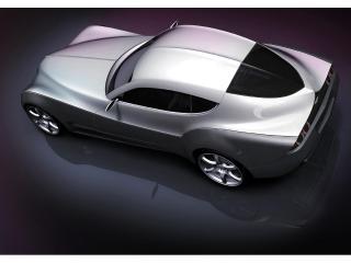обои 2010 Morgan EvaGT Concept боком фото