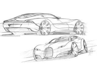 обои 2010 Morgan EvaGT Concept красивый эскиз фото