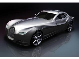 обои 2010 Morgan EvaGT Concept передок фото