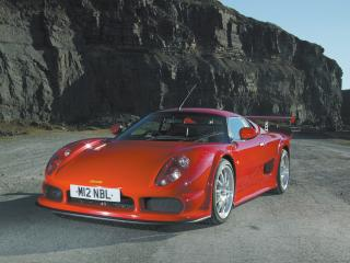обои Noble  M12 GTO у горы фото