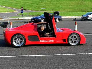 обои 2006 Ultima GTR720 Speed Record боком фото