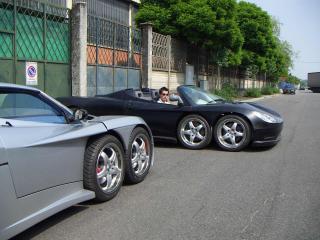 обои 2003 Covini C6W у гаража фото