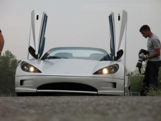 обои 2009 Covini C6W Spider открытые двери фото
