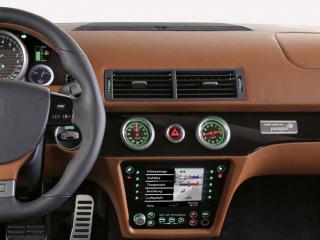 обои для рабочего стола: 2007 Artega GT руль