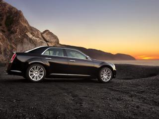 обои 2011 Chrysler 300 вечер фото