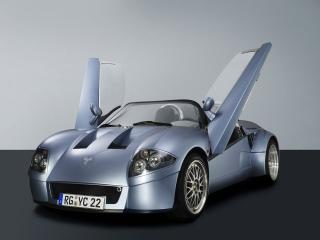 обои 2003 Yes Roadster боком фото