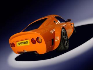 обои 2009 Zolfe Classic GTC4 сзади фото