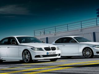 обои 2011 BMW 1-Series вместе фото