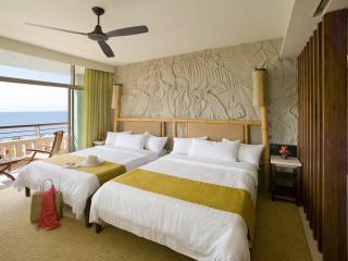 обои Двойная спальня в номере отеля фото
