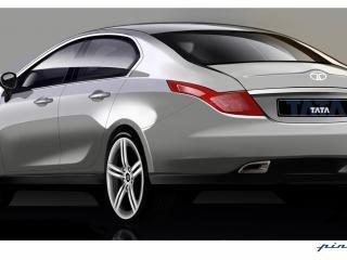 обои 2009 Tata Pr1ma Concept сзади фото