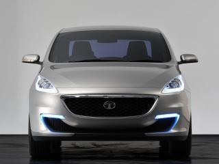 обои 2009 Tata Pr1ma Concept спереди фото