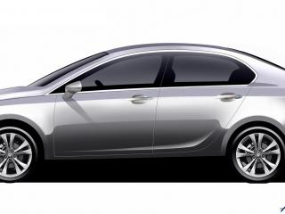 обои 2009 Tata Pr1ma Concept эскиз сбоку фото