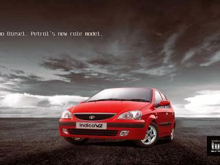 обои Tata Indica V2 Turbo передок фото