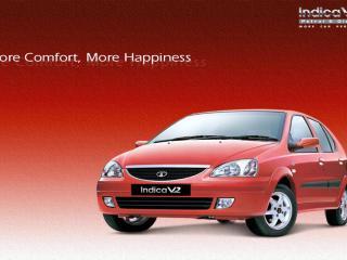 обои Tata Indica V2 бок фото
