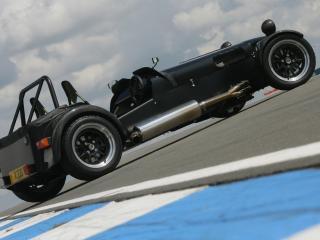 обои 2007 Caterham X330 Concept сбоку фото
