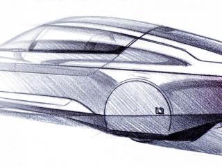 обои 2010 Volkswagen L1 Concept бок эскиз фото
