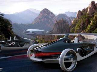 обои 2011 Volvo Air Motion Concept вместе фото