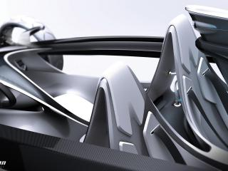 обои 2011 Volvo Air Motion Concept салон фото