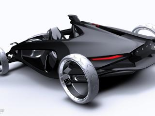 обои 2011 Volvo Air Motion Concept сзади фото
