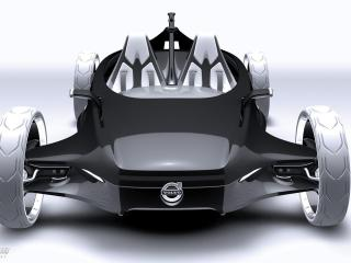 обои 2011 Volvo Air Motion Concept спереди фото