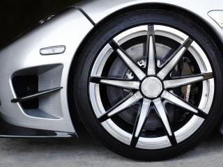 обои 2010 Koenigsegg CCXR Trevita колесо фото