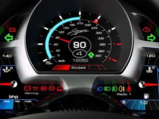 обои 2011 Koenigsegg Agera спидометр фото