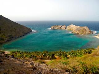 обои Морская лагуна летом фото