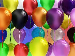обои Парад воздушных шариков фото