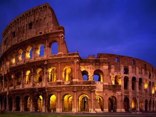 обои Стадион для гладиаторских боев в древнем Риме фото