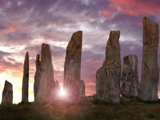обои Callanish Standing Stones,   Гебридские острова,   Шотландия фото