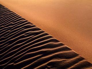 обои Песчаная грань бархана фото