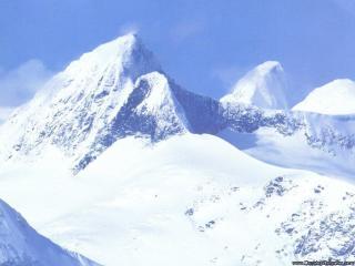 обои Снежные склоны фото