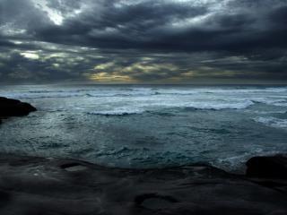обои Волнующееся море фото