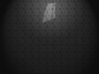 обои Силуэт окна на пустой стене фото