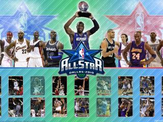 обои Матч всех звезд НБА фото