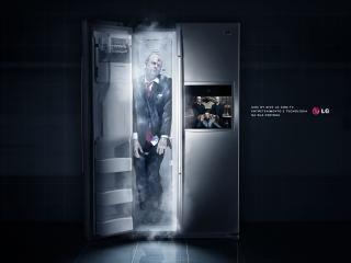 обои Холодильник как тайник для трупов фото