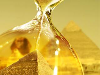 обои Пирамиды за стеклом фото