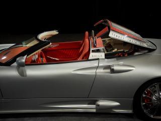 обои 2010 Spyker C8 Aileron Spyder бок фото
