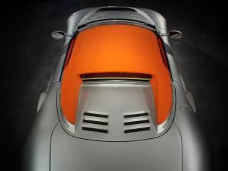 обои 2010 Spyker C8 Aileron Spyder оранжевая крыша фото