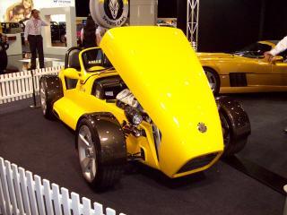 обои для рабочего стола: Elfin 2007 Perth Motor Show открыт капот